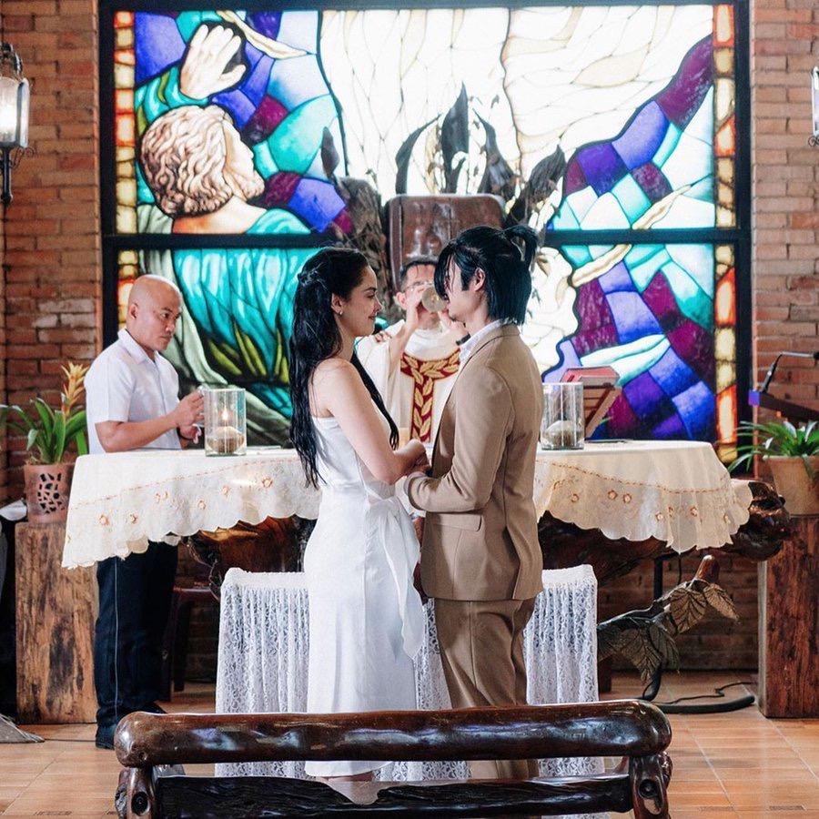 Megan Wedding Dress: LOOK: Megan Young, Mikael Daez Tie The Knot