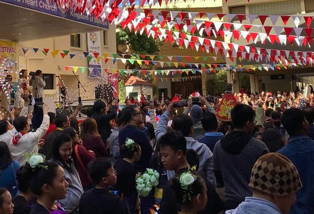 PH Embassy in Bahrain joins Sto. Ñino Fiesta 2020