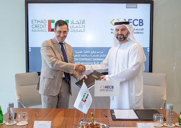 Boosting UAE domestic trade: Etihad Credit Insurance to utilise Al Etihad Credit Bureau products to support SMEs' growth