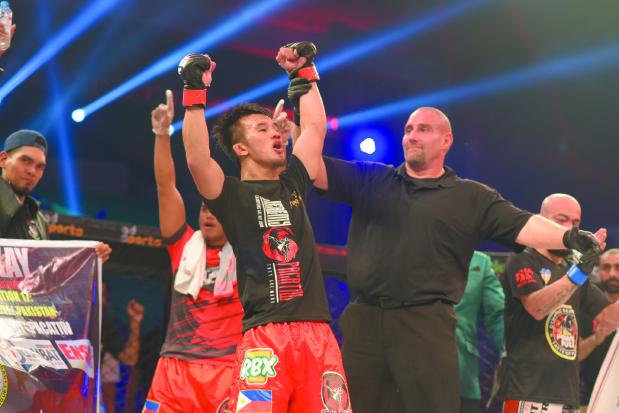 Jeremy Pacatiw defeats Felipe Efrain in Brave Combat Federation