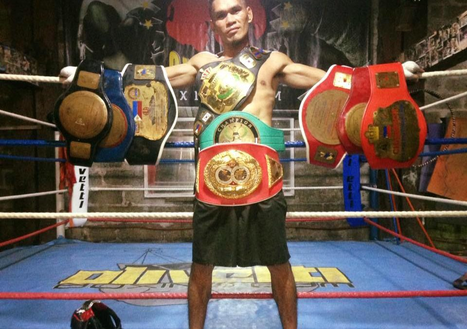 Filipino boxer new WBO Asia Pacific super bantamweight champion