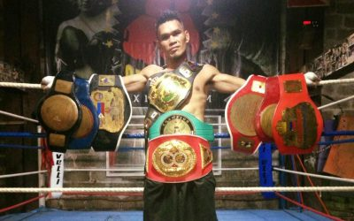 Filipino boxer new WBO Asia Pacific super bantamweight champion