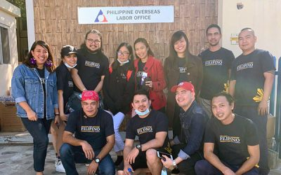 We are where you are: The Filipino Times joins community aid drive for victims of Taal eruption