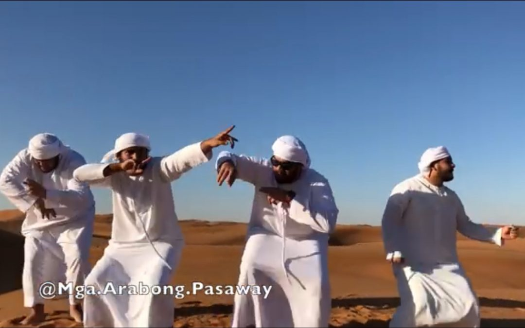 "WATCH: Mga Arabong Pasaway shows off their take on ""budots"" dance"