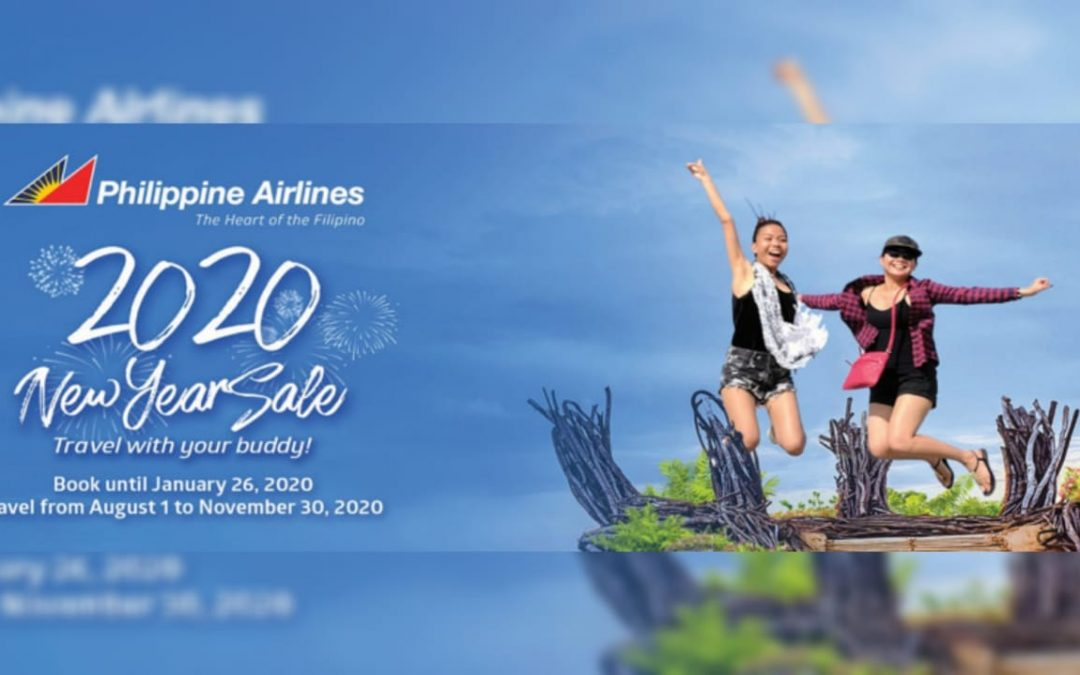 Plan your trip home with Philippine Airlines' 2020 New Year seat sale
