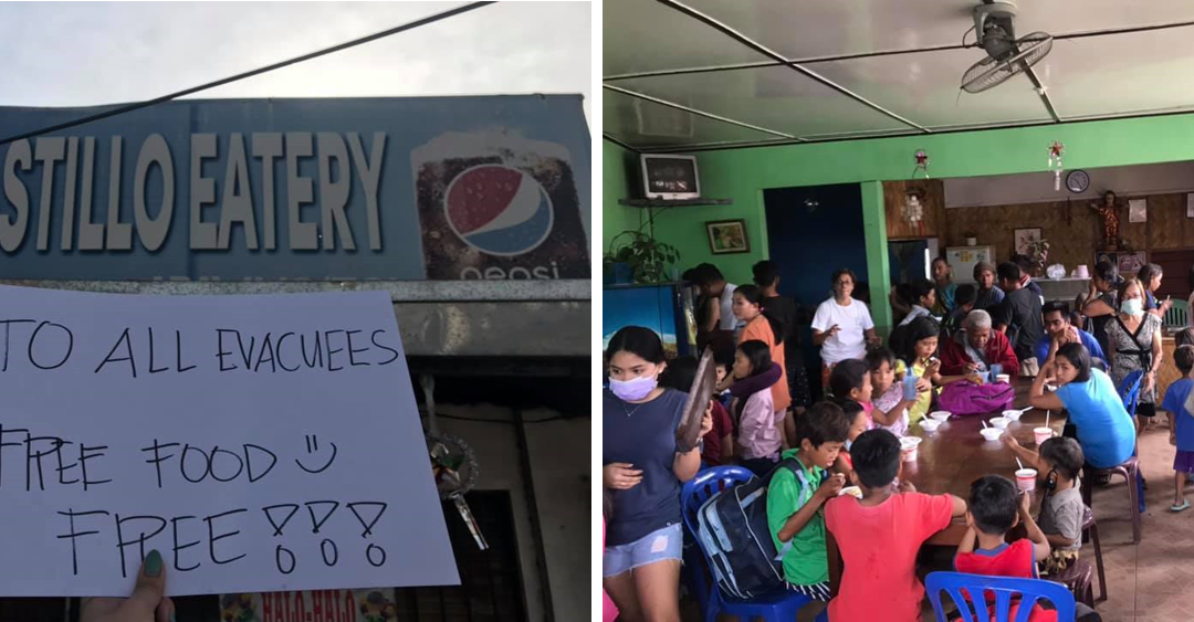 VIRAL: Family-owned eatery in Batangas feed affected residents of Taal Volcano eruption