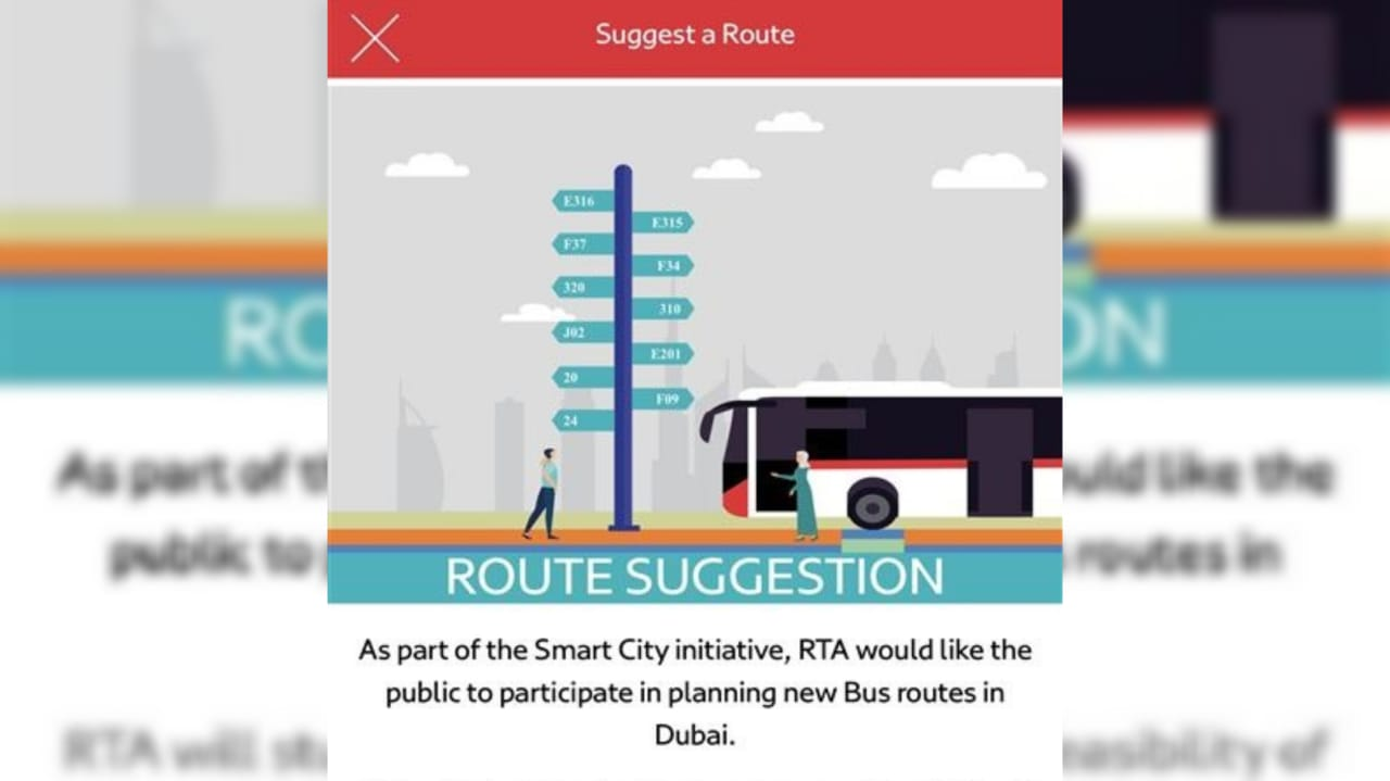 Dubai Rta App Features Allows Public To Suggest New Bus Routes The Filipino Times