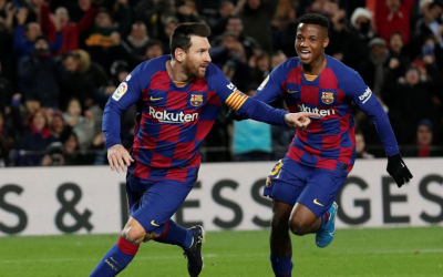 Messi lands Barcelona goal 1-0 against Granada at La Liga