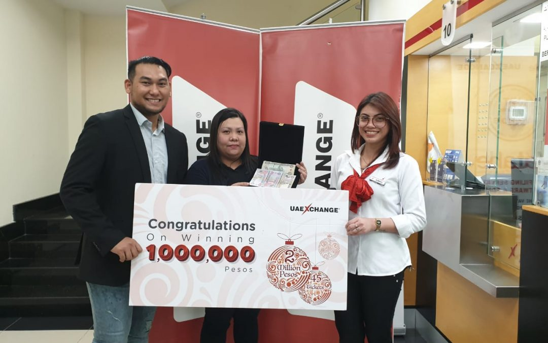 Dubai-based OFW for 12 years gets first-ever raffle victory, wins Php1 million in remittance center promo