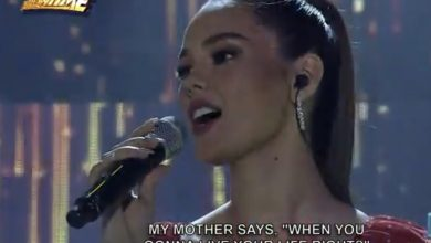 Photo of Catriona Gray kicks off birthday celebration as 'It's Showtime' guest host