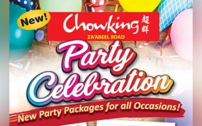 'Selebrasyong abot-kaya!': Enjoy memorable parties together with Chowking