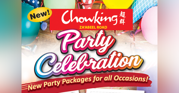'Selebrasyong abot-kaya!': Enjoy memorable parties together with Chowking