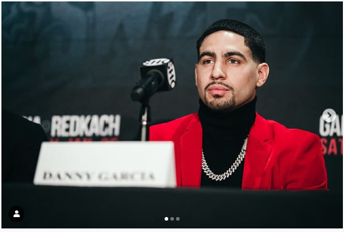 Danny Garcia wants to become 'legend' by defeating Pacquiao