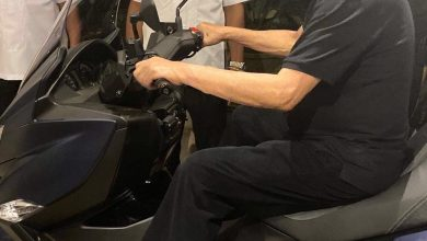 Photo of Duterte rides motorcycle again