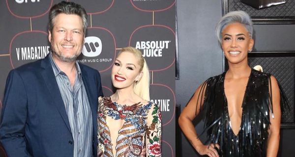 Look Filipino Fashion Designer Dresses Up Gwen Stefani Sibley Scoles For Grammy Awards 2020 The Filipino Times