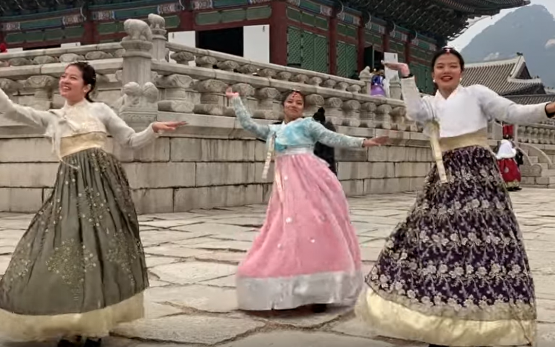 Pinay siblings dance to the groove of 'Tala' in Korea
