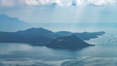 Photo of 113 earthquakes recorded in Taal Volcano in the last 24 hours