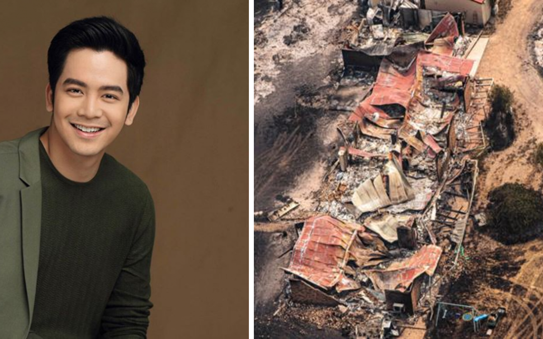 Actor Joshua Garcia provides donation for victims of Australian bushfire crisis