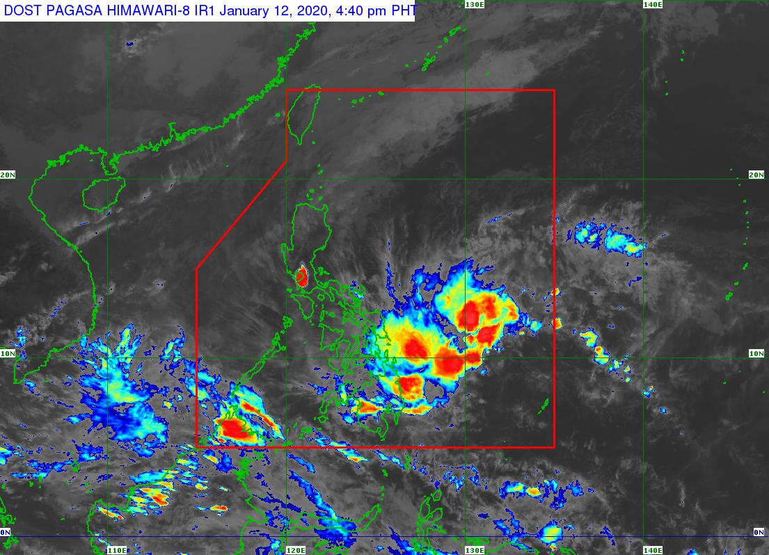 PAGASA monitors LPA due to Amihan as ash fall continues to ...