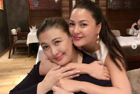 Netizens celebrate Sharon Cuneta, KC Concepcion reconciliation