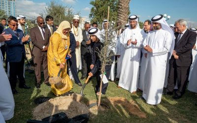 400 trees planted in Abu Dhabi to mark legacy of WUF