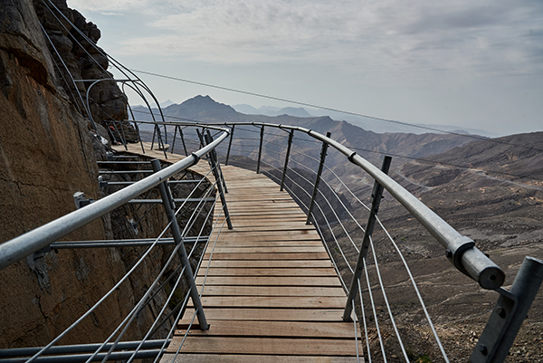 Ras Al Khaimah unveils 'Jais Adventure Peak' on UAE's highest mountain