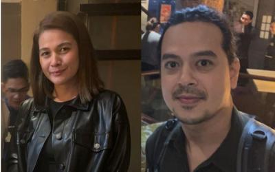 LOOK: John Lloyd Cruz, Bea Alonzo spotted in Makati restaurant