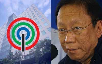 Calida asks SC to stop ABS-CBN from discussing the merits of quo warranto case