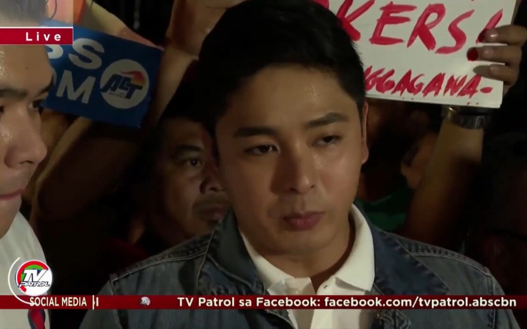 """LOOK: Coco Martin prays for officials to have """"sound mind and decision"""" on ABS-CBN's franchise renewal"""