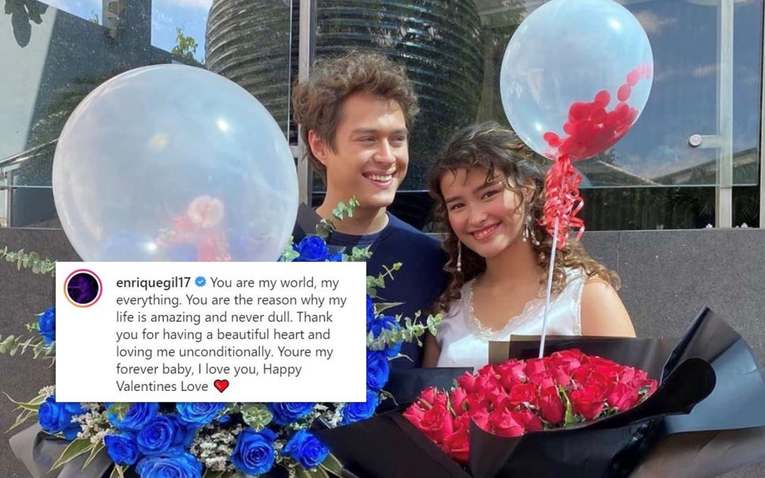 Enrique to Liza on Valentine's Day: 'You are my world'