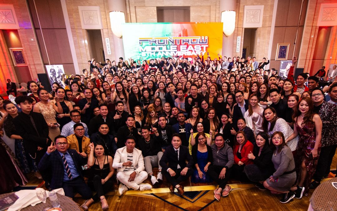25,000+ @ 5: FRONTROW Middle East celebrates 5th milestone with thousands of success stories