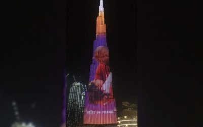 LOOK: Burj Khalifa showcases heartwarming tribute for Kobe, Gianna Bryant