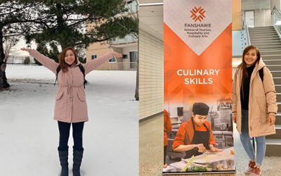 Bicolana's Aspiring Chef fulfilling her dreams in Canada
