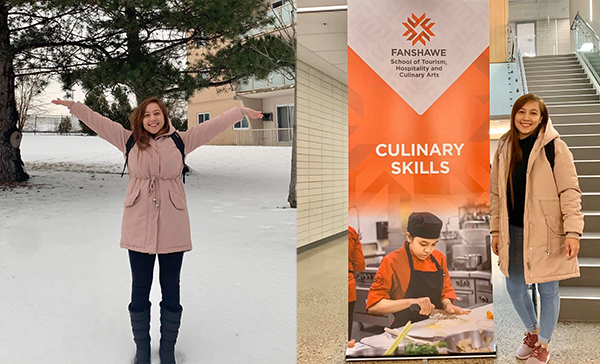 Bicolana's Aspiring Chef fulfilling her dreams in Canada