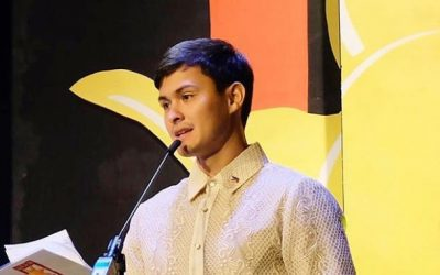 Matteo Guidicelli thanks everyone who sent best wishes