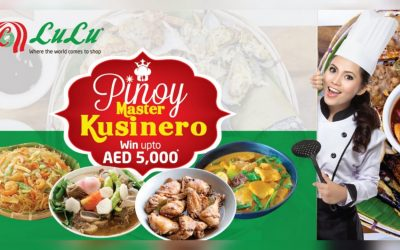 "Win up to Dh5,000 in LuLu's search for Pinoy Master Kusinero for ""World Food"" Festival"