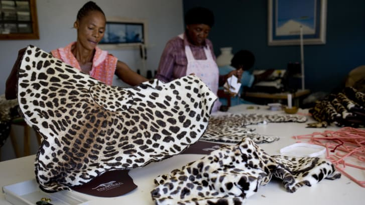 African designers attempt to ditch fur, create replica skins digitally