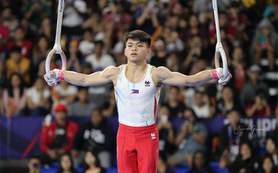 Gymnast Carlos Yulo to receive President's Award from Sportswriters Association