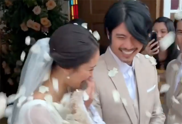 Mikael Daez posts funny wedding scene with wife Megan Young