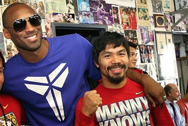 WATCH: Manny Pacquiao pays tribute to Kobe Bryant