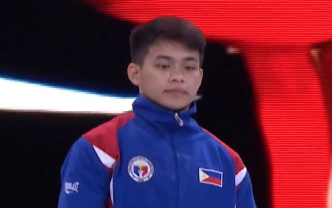 Int'l Gymnastics Federation features PH gymnast Carlos Yulo