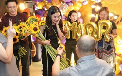 LOOK: Kris Bernal, non-showbiz boyfriend now engaged