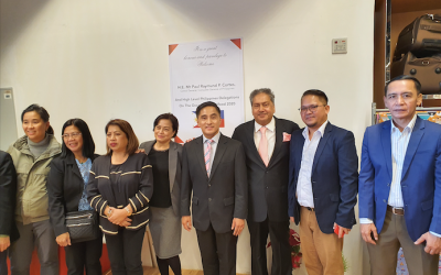 PH trade delegation visits Al Maya Supermarket