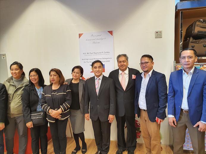 PH trade delegation visits Al Maya Supermarket