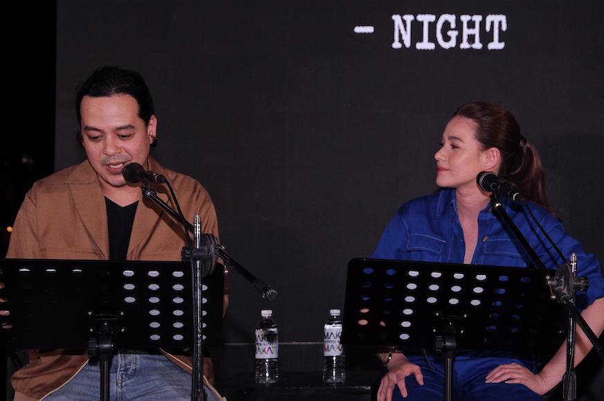 'So much feels' John Lloyd Cruz, Bea Alonzo spent Valentine's in live script reading event