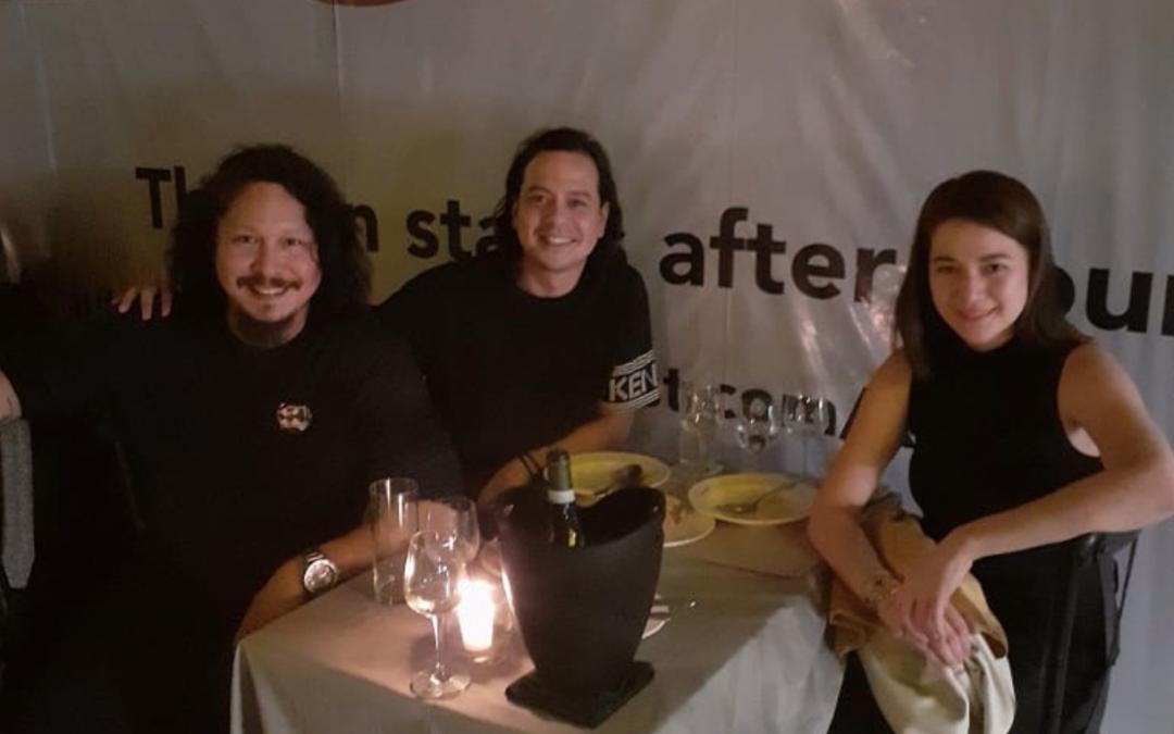 LOOK: Bea Alonzo, John Lloyd Cruz reunited with Baron Geisler in photo