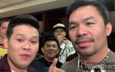 WATCH: Manny Pacquiao sings a hilarious duet with Marcelito Pomoy