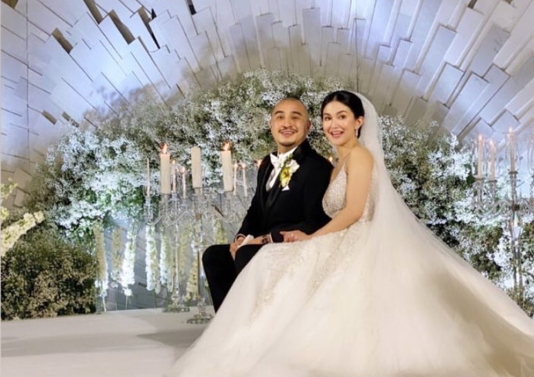 LOOK: Sheena Halili, Jeron Manzareno get married