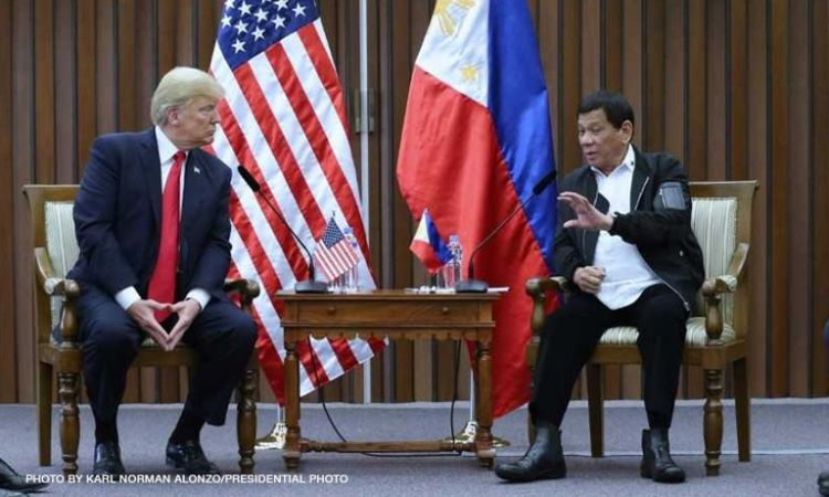 Malacañang: Duterte says Trump will also terminate VFA, wants US leader reelected