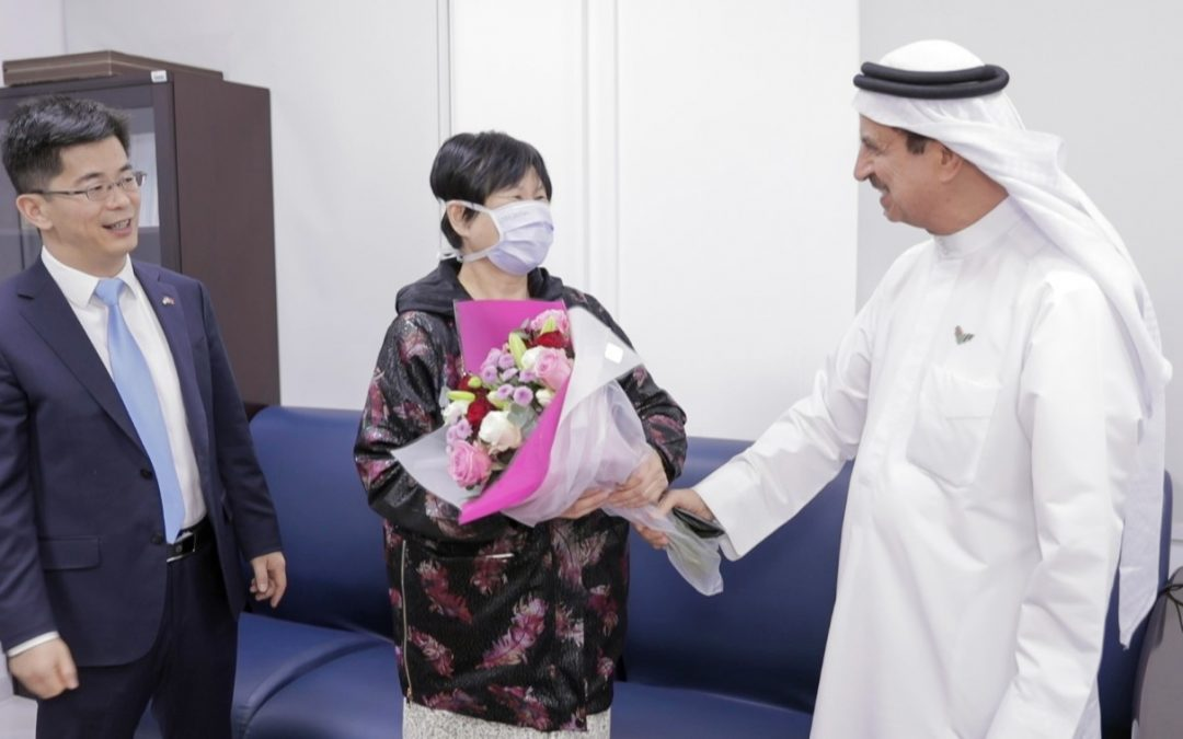 WATCH: First novel coronavirus patient in UAE recovers